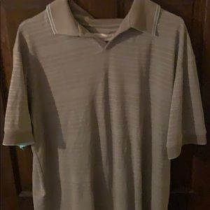 Mens Large Perry Ellis Polo Style Shirt